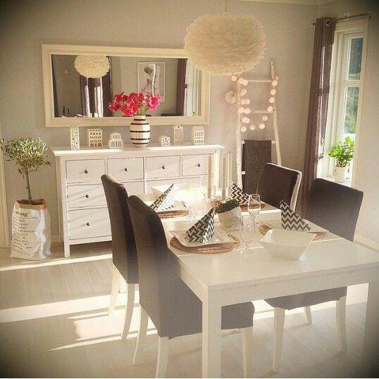 Hemnes | Virtuves ,valgomieji | Wohn esszimmer, Ikea ideen und ...
