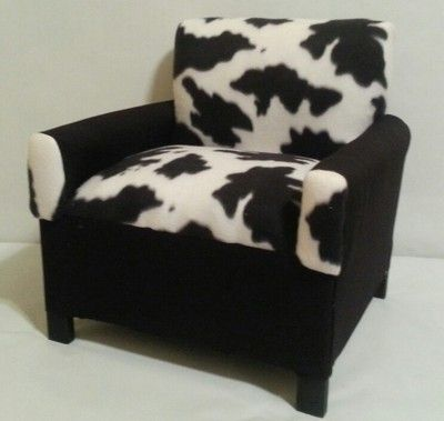 Cow Print Children S Chair
