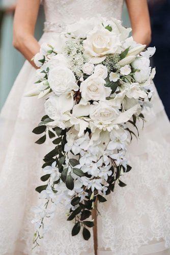 45 Gorgeous Cascading Wedding Bouquets | Wedding Forward