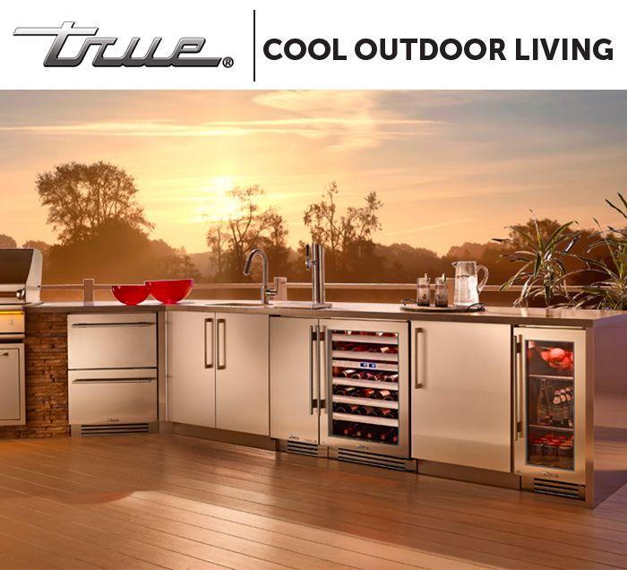 Outdoor Kitchen Refrigerator