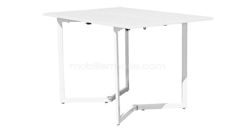 Jivo C101 Console Table Design Blanche Laque Mobilier Moss