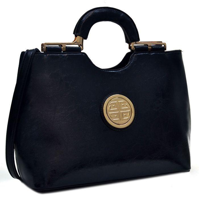 Dasein Faux Loop Handle Shoulder Bag a82845f94e0c3