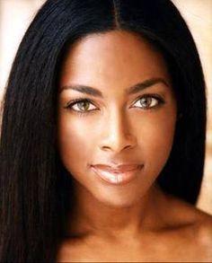 natural black girl makeup