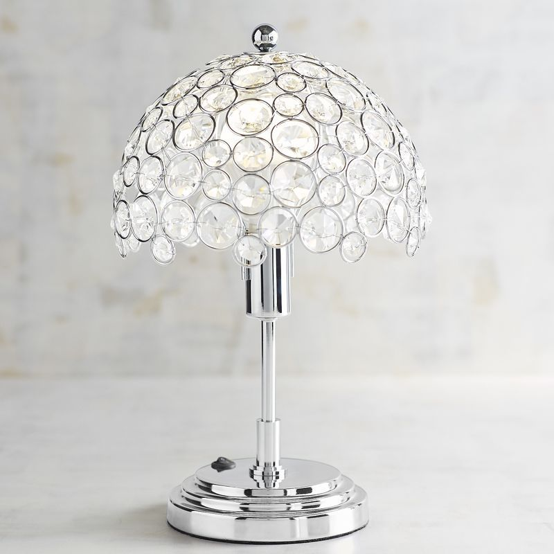 Crystal Bead Mini Cordless Lamp With Led Bulb Cordless Lamps