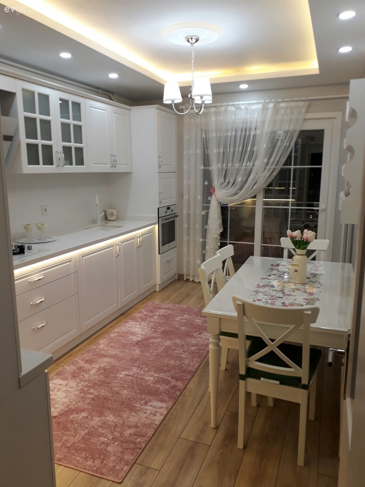 Tadilat sonrası çok zevkli bir ortam. Esra hanımın mutfağının dönüşümü.. | Ev Gezmesi #home