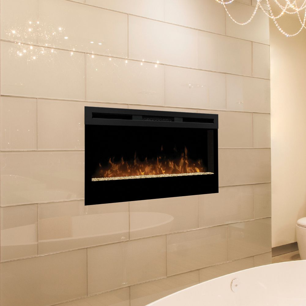 Dimplex Wickson 34 In Linear Electric Fireplace Blf34 Dimplex