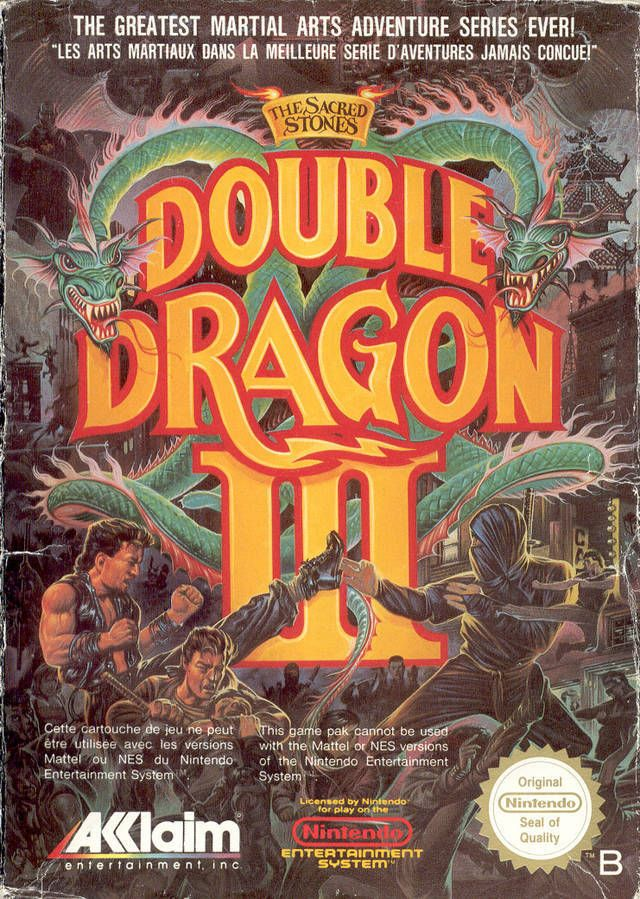 Double Dragon Iii The Sacred Stones Box Shot For Nes Gamefaqs