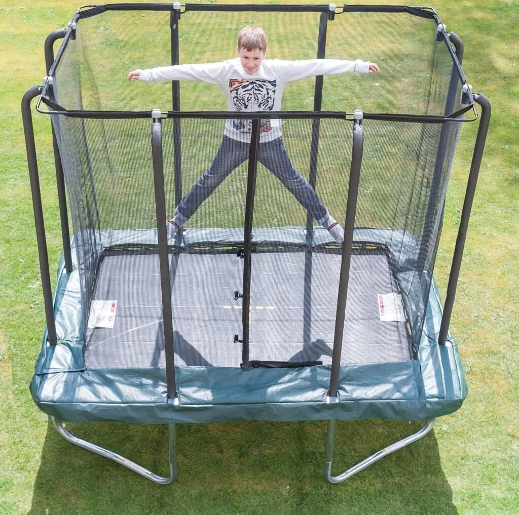 Best Small 6x9 Rectangular Trampoline With Safety Net