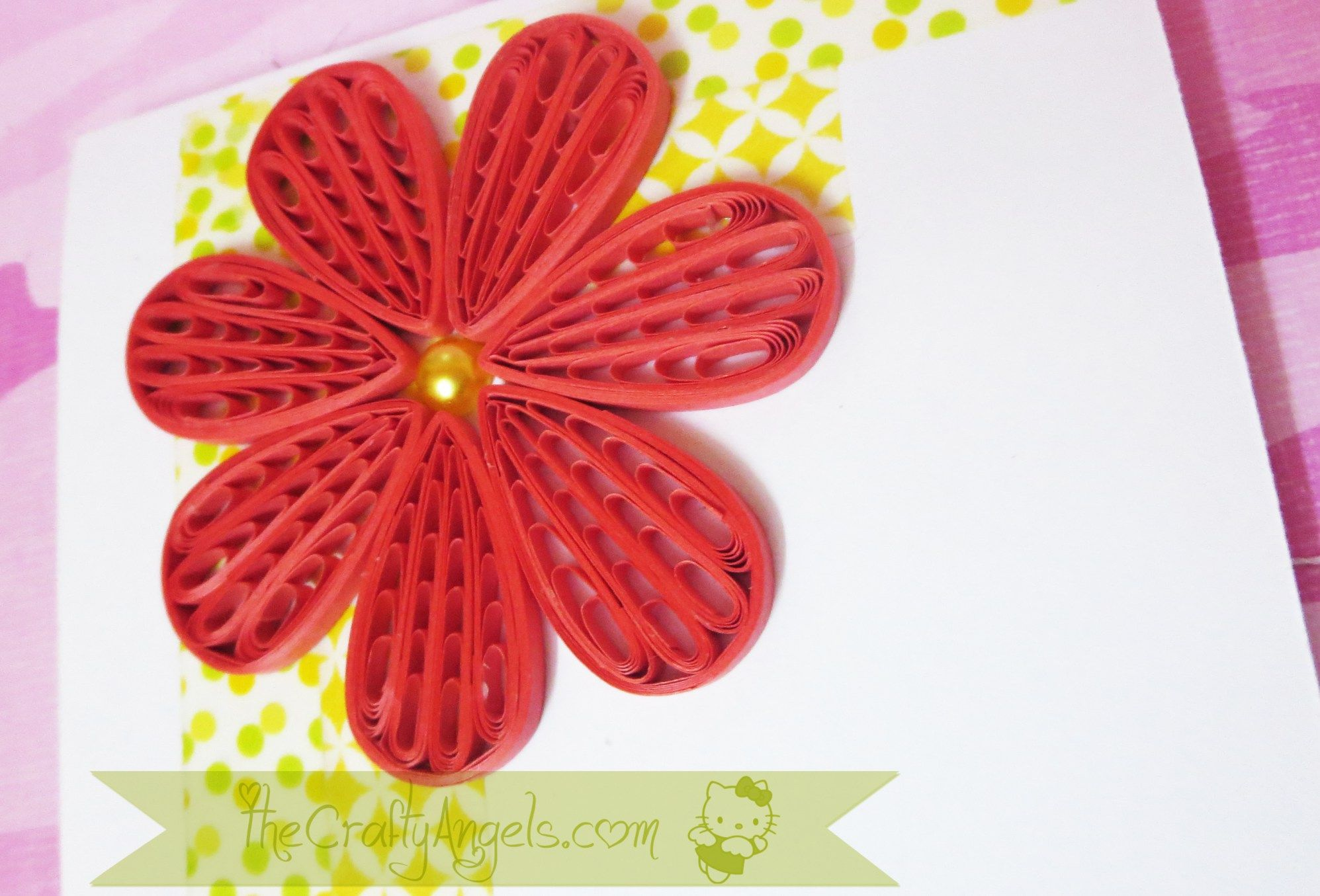 Quilling comb flower tutorial (18) | Rainy Days | Pinterest ... for quilling flowers using comb tutorial  545xkb