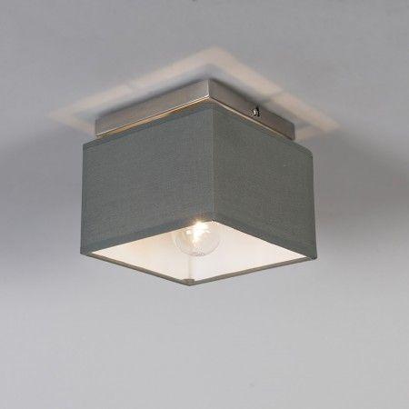 Deckenleuchte  VT 1 grau - Diese #Deckenleuchte VT1 ist die perfekte Ergänzung für Ihr #Wohn- oder #Esszimmer. Mit der VT1 zaubern Sie eine stylische #Atmosphäre und einen modernen Look, an dem Sie sich ganz sicher nicht satt sehen werden. Abgerundet wird der Stil dieser #Leuchten mit dem passenden #Lampenschirm. #lampenundleuchten.de