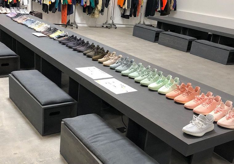 37988a6e827c6 Kanye West adidas Yeezy Samples