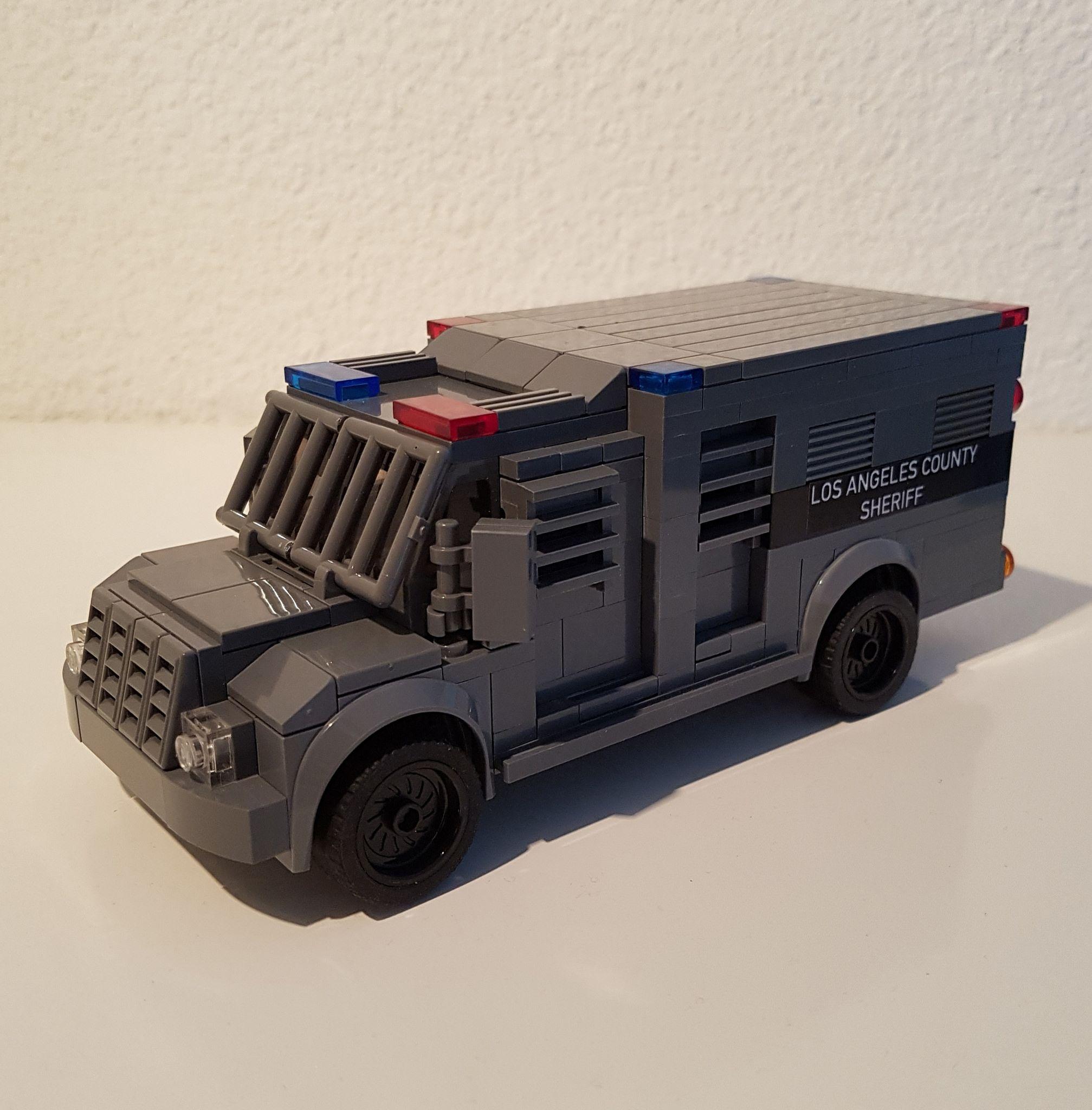 Swat Truck Lego Cars Lego Truck Lego Models