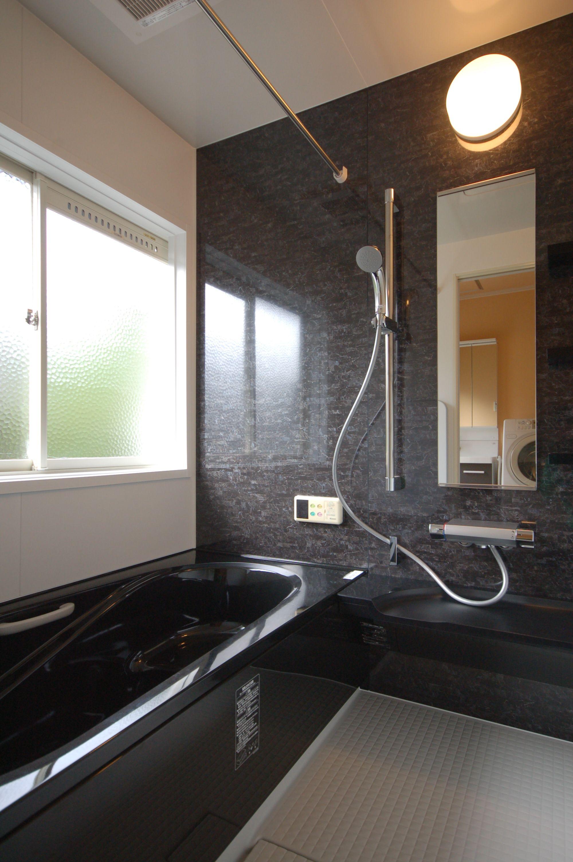 決めてはブラック お風呂リフォーム 施工事例 お風呂 リフォーム 浴室 デザイン お風呂
