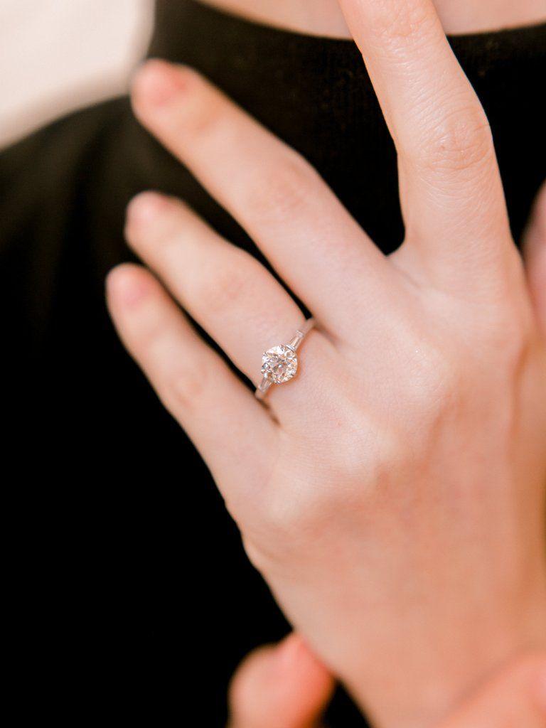 Kasey | Vintage Tiffany Engagement Rings | Pinterest | Baguette ...