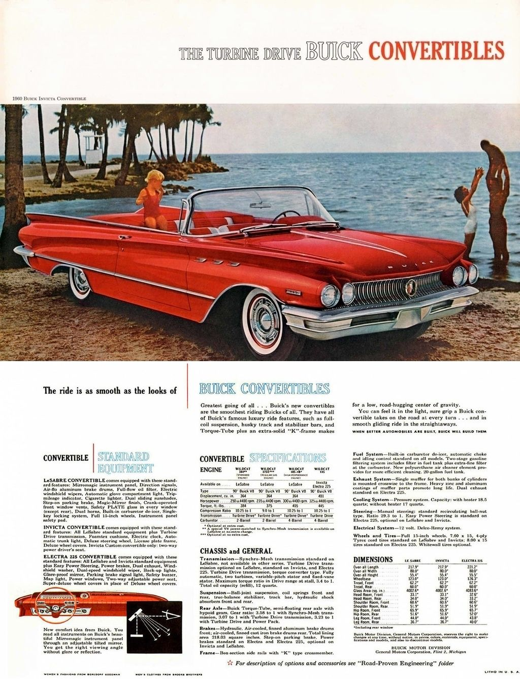 Buick Invicta : buick, invicta, Buick, Invicta, Convertible, Advertising,