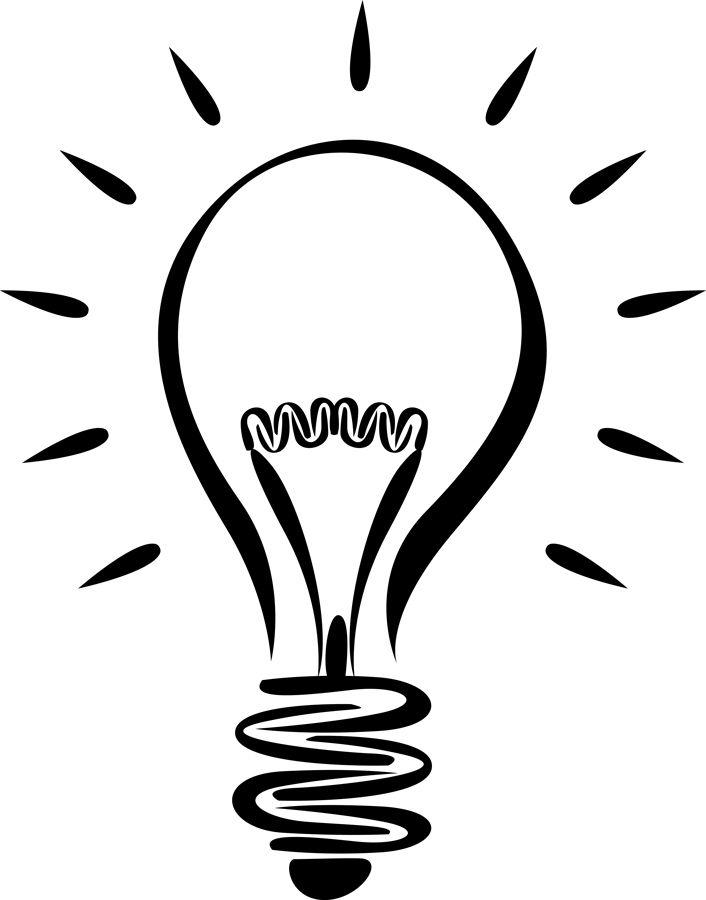 lightbulb free light bulb clip art pictures crafts pinterest rh pinterest com free clipart light bulb vector free clipart christmas light bulb