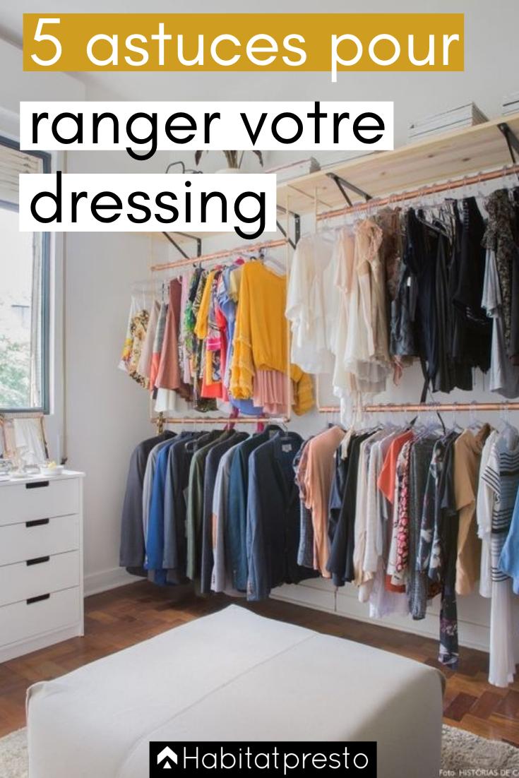 astuce rangement rangement dressing