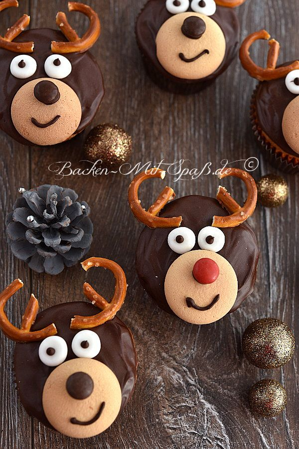 Rentier- Cupcakes