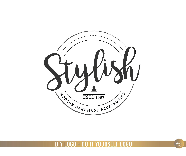 Boutique Logo. Shop Logo. Branding Boutique Logo. Branding
