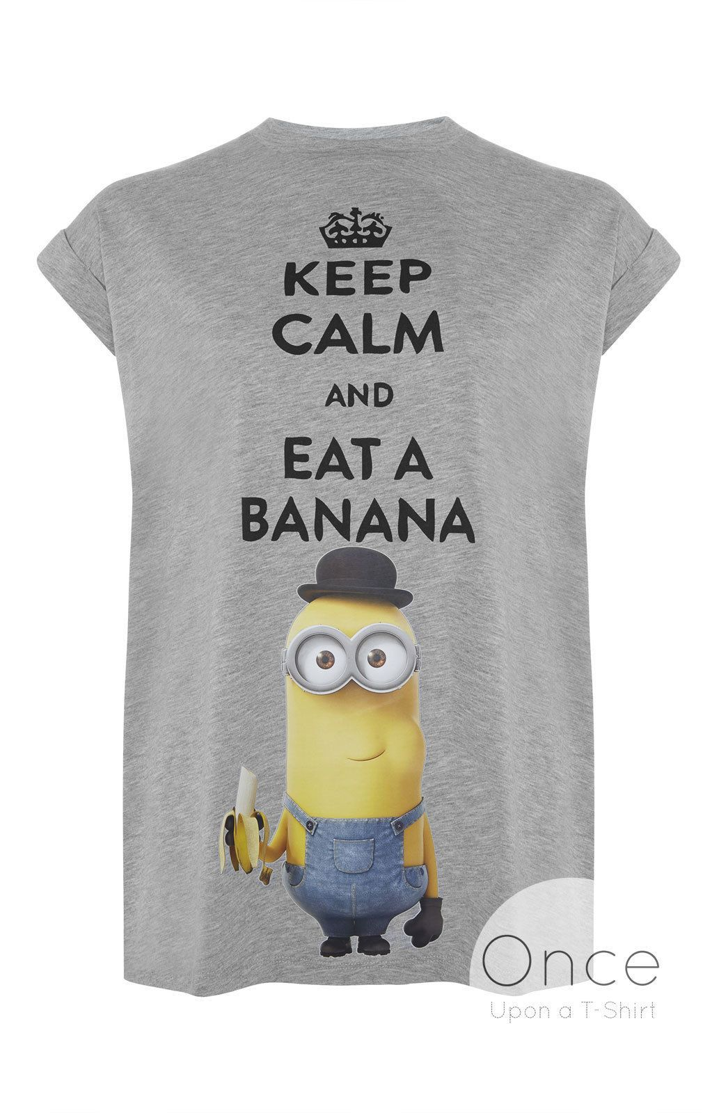The Minions Powered by Bananas Ladys Shirt