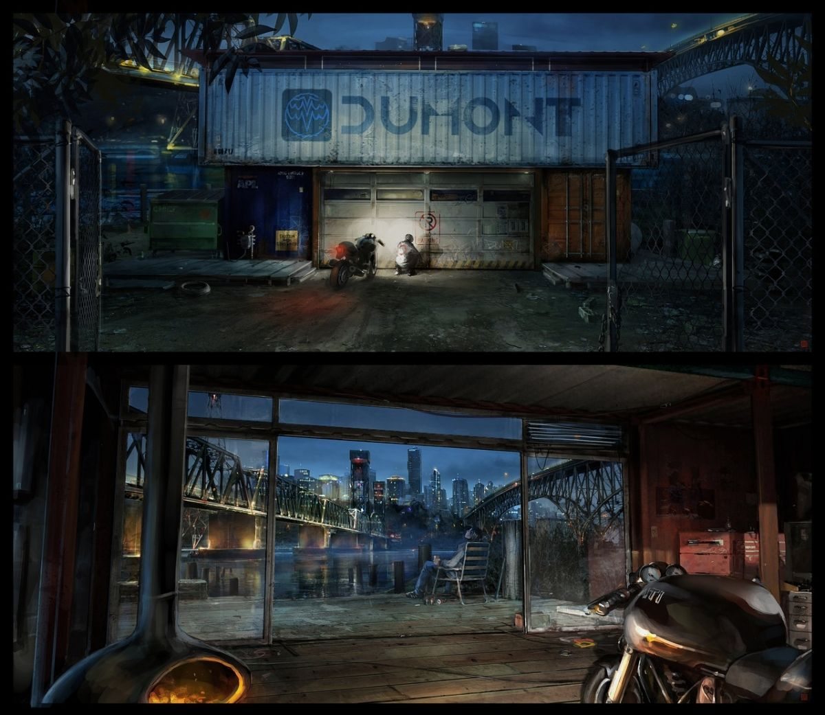 Tron Container House In Tron Legacy Sam39s Container Barontieri On