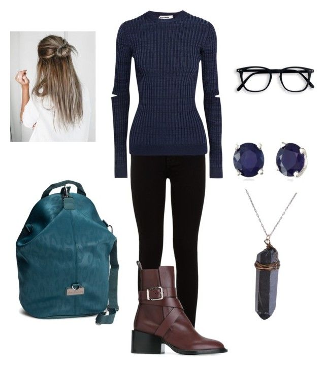 """""""Untitled #254"""" by facummings ❤ liked on Polyvore featuring 7 For All Mankind, Jil Sander, adidas and Effy Jewelry"""
