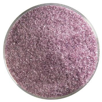 Light Violet Transparent Fine Frit - 4oz - 90COE - Made from Bullseye Glass
