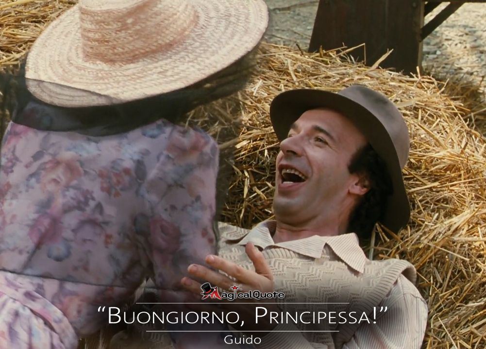 Lifeisbeautiful Guido Buongiorno Principessa Movie