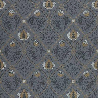 William Morris   Co Tapet Pure Trellis Black ink  7ca72084dcb97