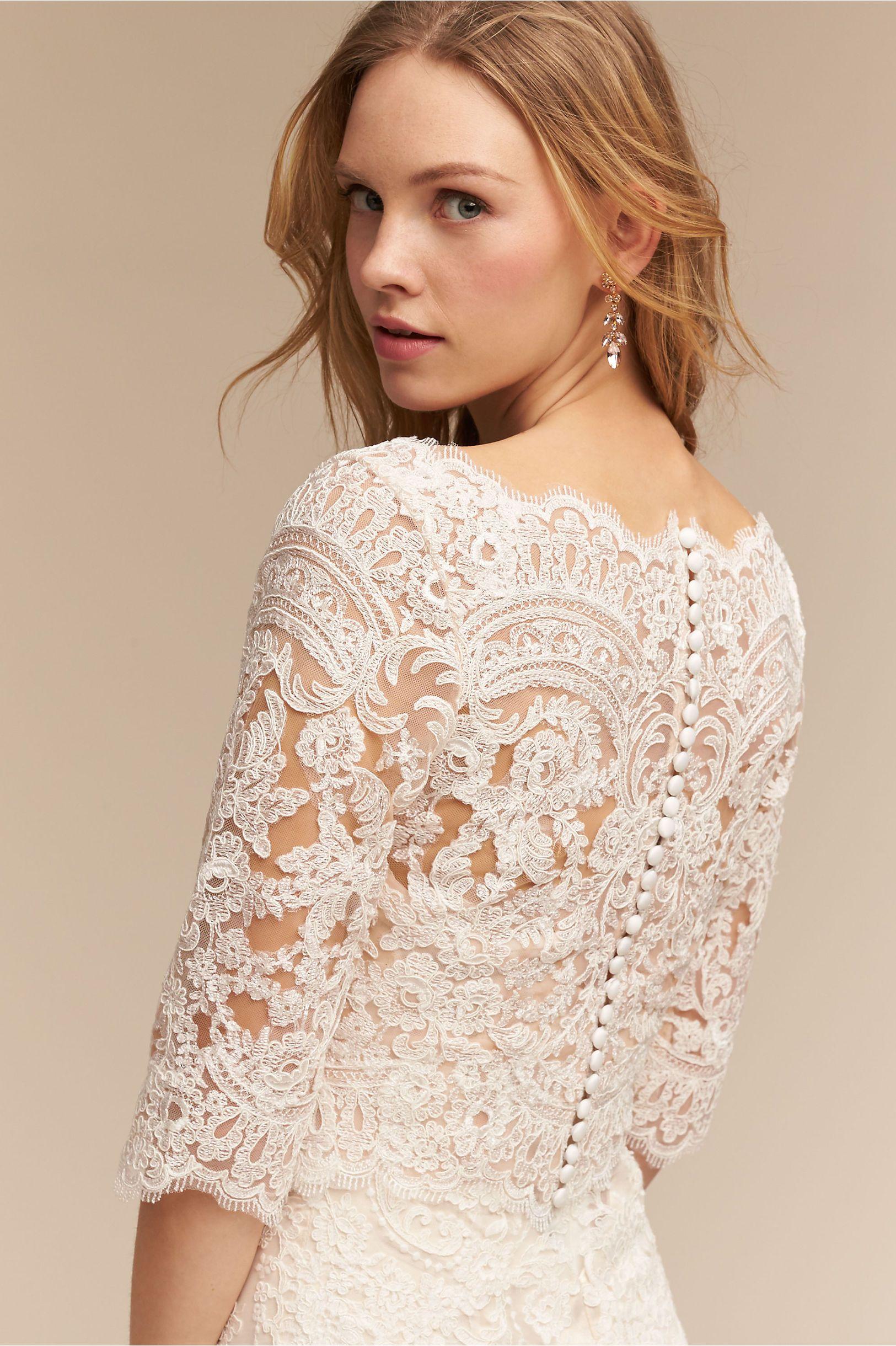 BHLDN Capri Top in Bride Wedding Dresses Lace | BHLDN | SpecialDay ...