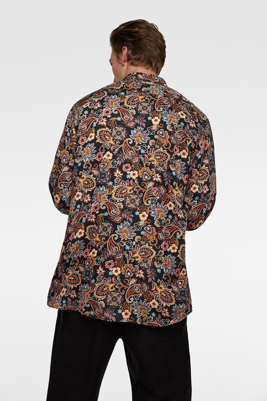 camisetas zara hombre chile