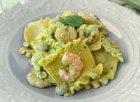 Pasta con fave fresche e gamberetti ricette facili e for Pasta ricette veloci
