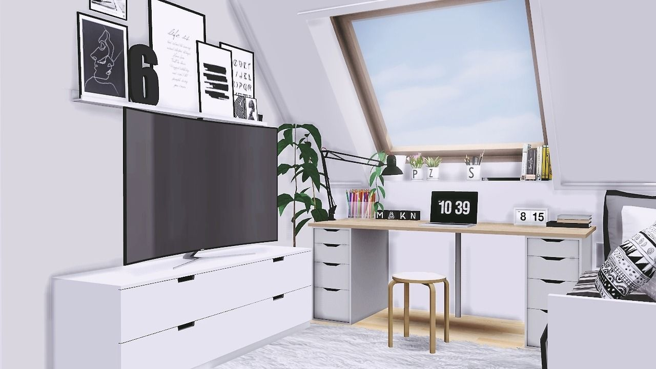 Pin by personwho lives on sims 4 cc Sims 4 bedroom, Sims