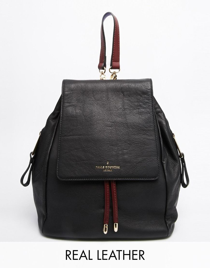 Bag · Paul's+Boutique+Gwyneth+Leather+Small+Backpack