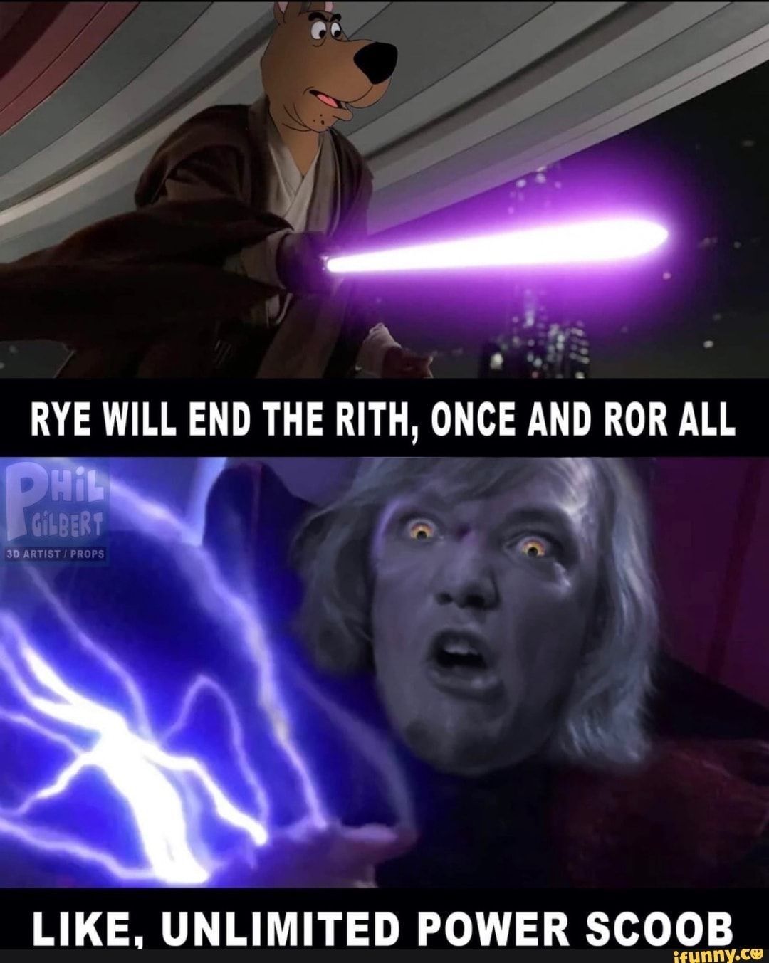 Like Unlimited Power Scoob Ifunny Memes Star Wars Memes Hilarious