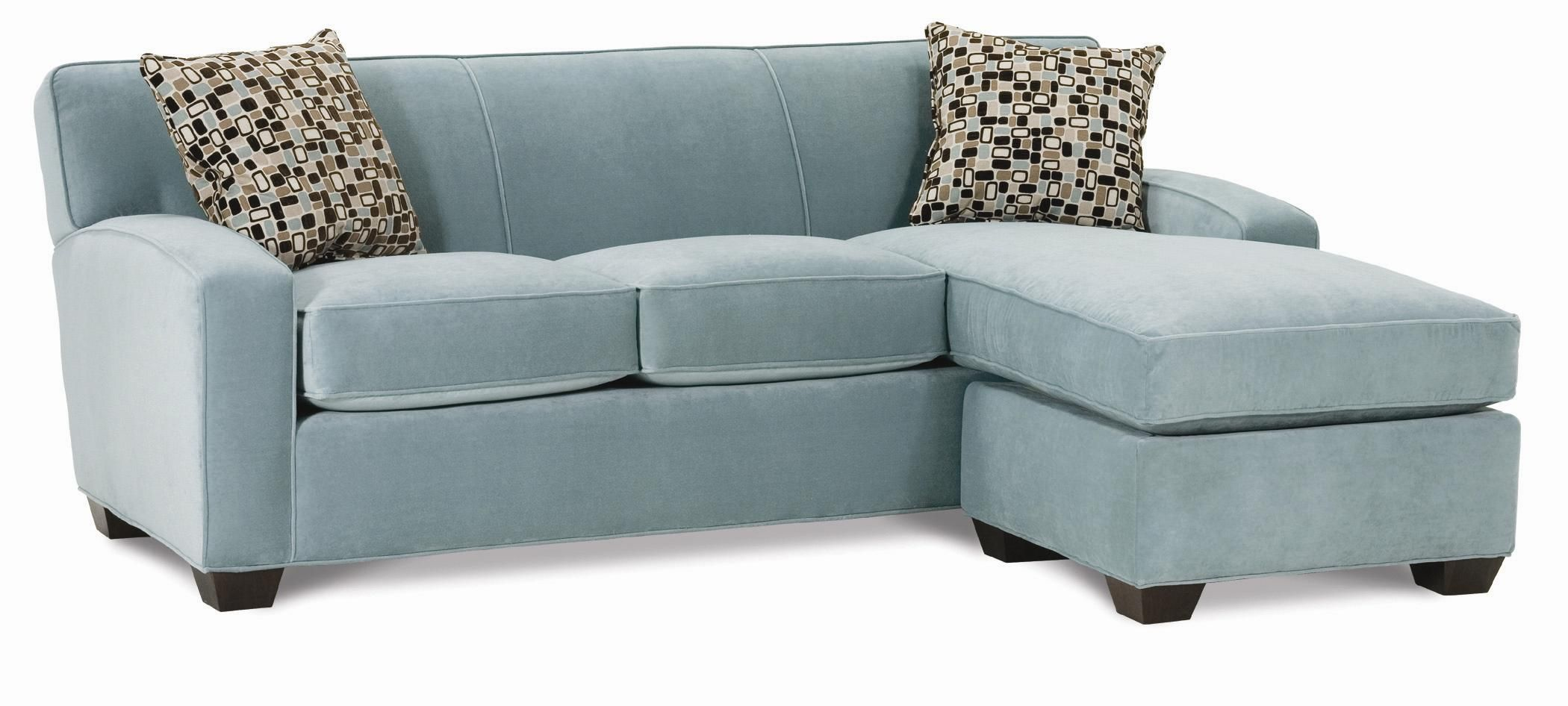 Horizon Stationary Sectional Sofa with Chaise by Rowe AHFA