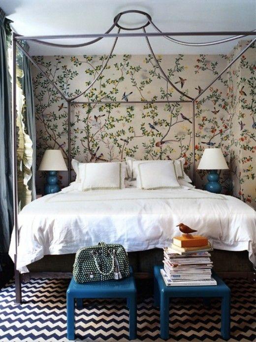 Look for Less: Miles Redd Bedroom - High-Heeled Foot in the Door