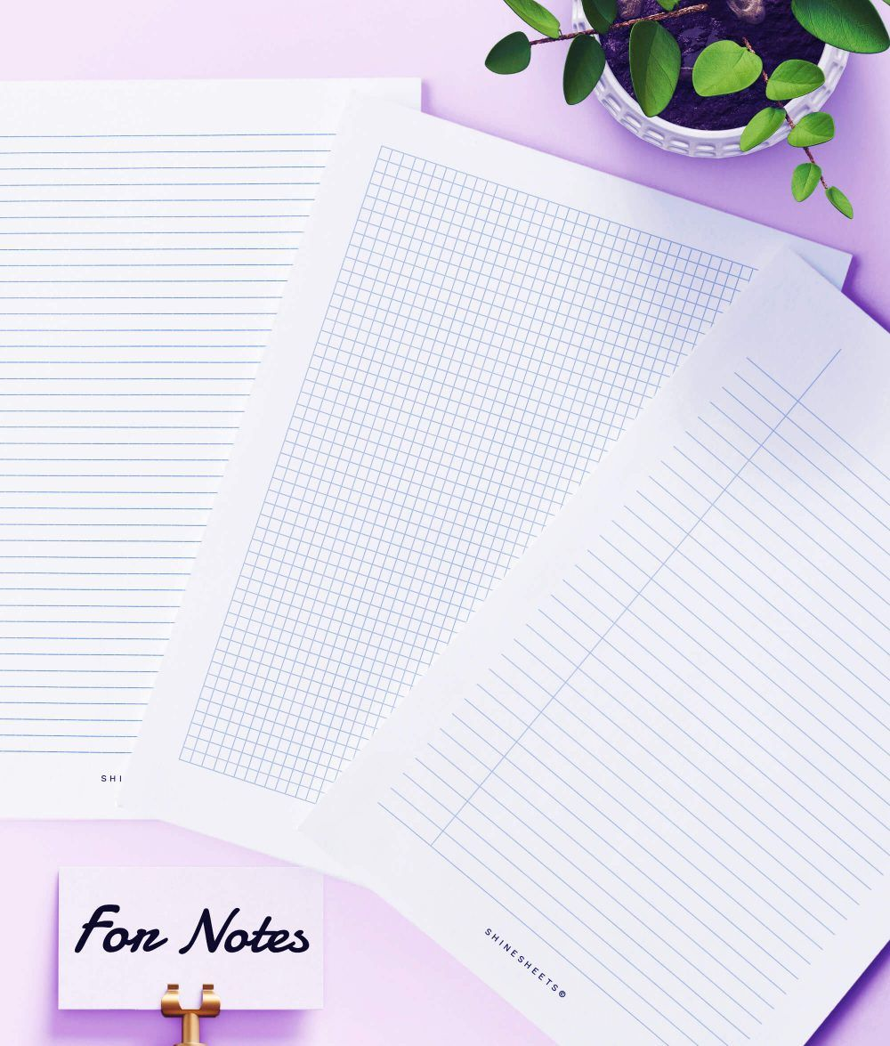 Student Planner Printable / 15 Pages ShineSheets in 2020
