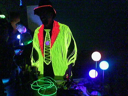 Picture of el wire Light Up Costume | El Wire Decorations and ...