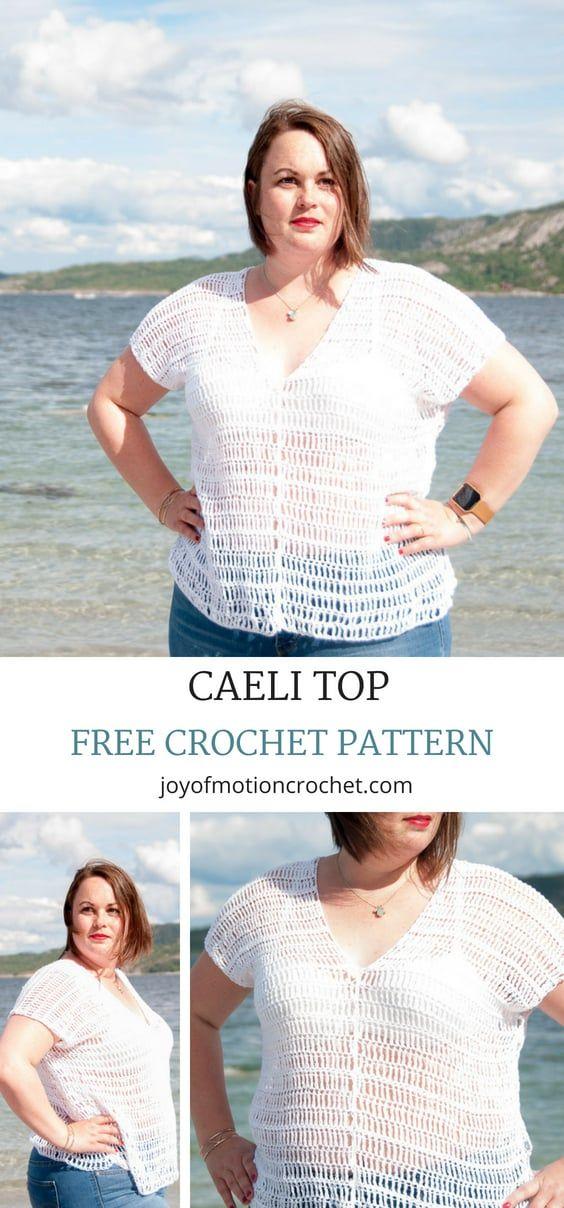 Crochet Caeli top - A Free Crochet Pattern | tops crochet ...