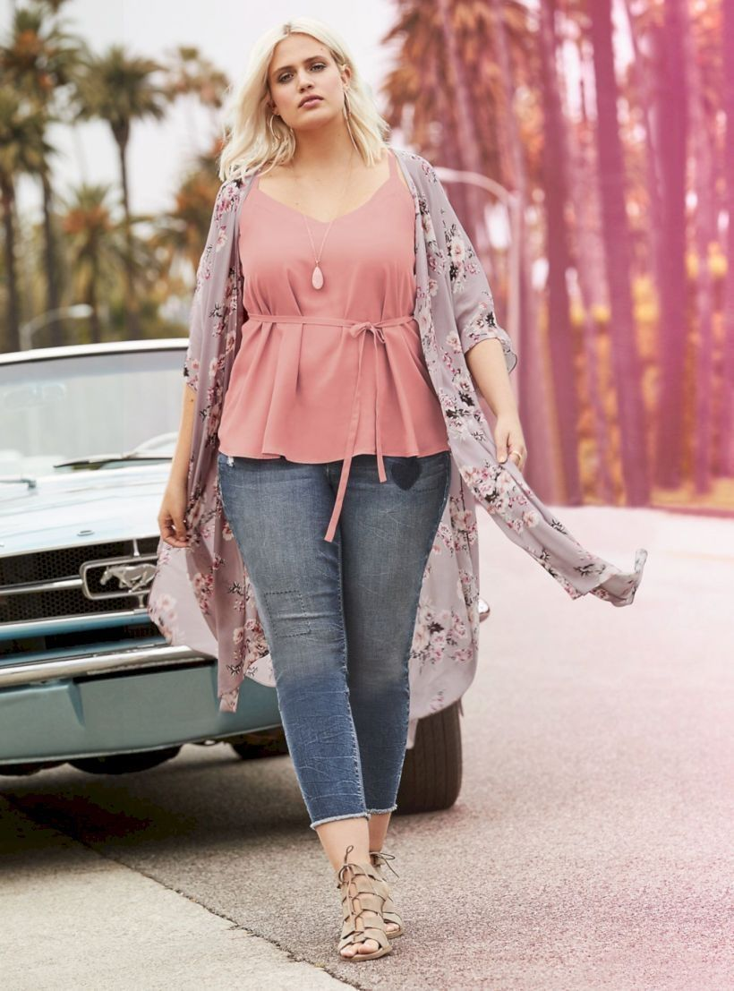 37 Trending Spring Plus Size Outfits for Women 2019