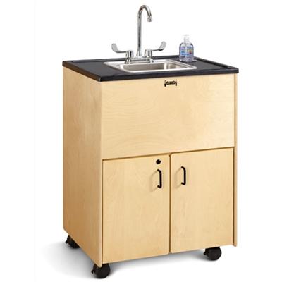Jonti Craft 1373jc 38 Adult Height Portable Sink Stainless Steel Basin Jonti Craft Portable Sinks Portable Sink Portable Sinks Faucet