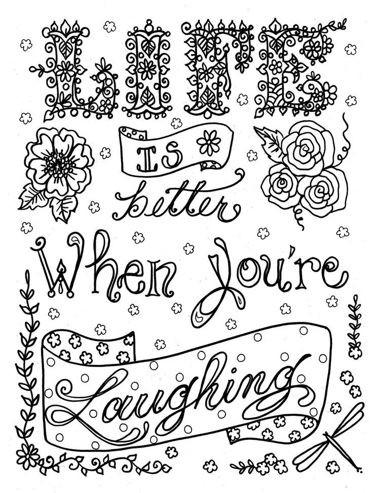 Pin By Sara Royce On Mental Health Tips Advice Quote Coloring