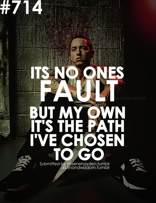 eminem quotes from songs about life - photo #4