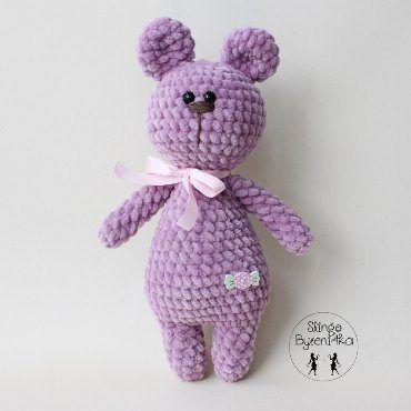 Plush bear crochet pattern #amigurumi #amigurumipattern #crochettoy ...