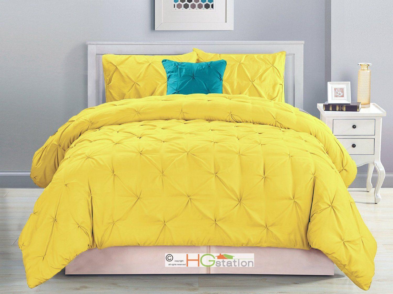 Pintuck Comforter Sets Sale Yellow Comforter Set Yellow