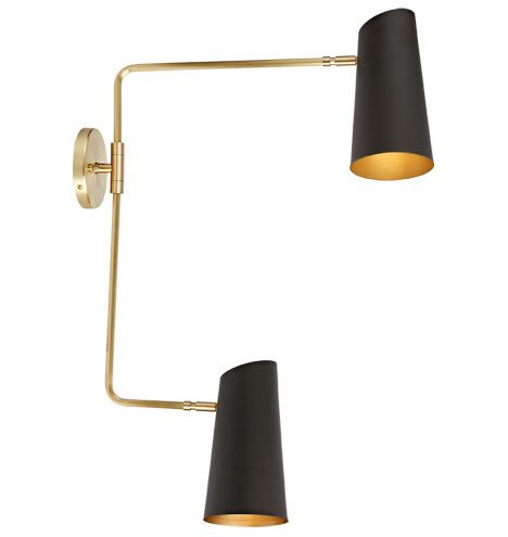 cypress double swing arm sconce pinterest oil rubbed bronze