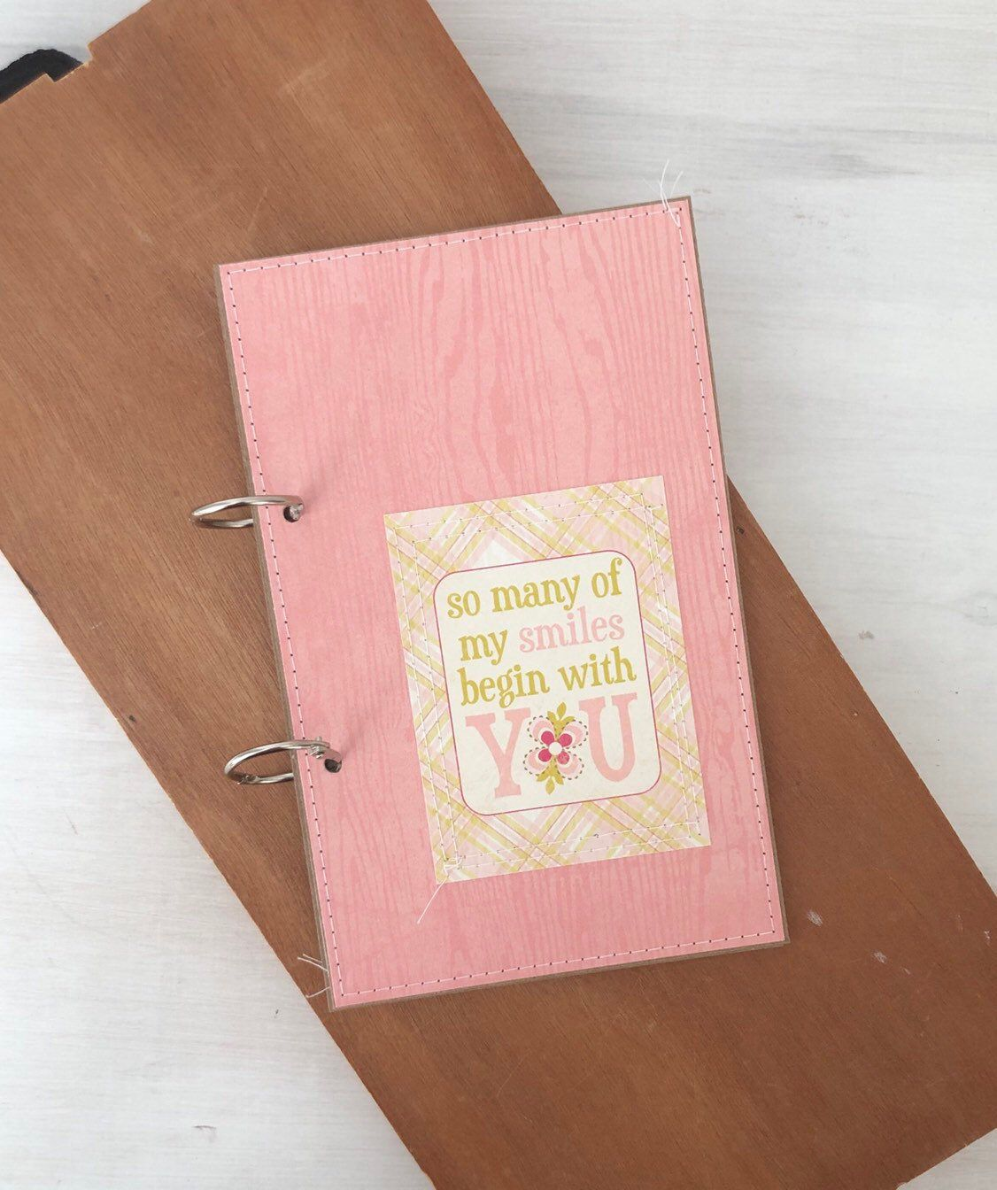 Greeting Card Binder Organizer, Photo Holder Book, Mini