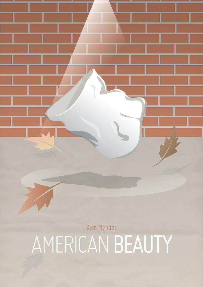 #american #beauty #movie #poster #alternative #minimal