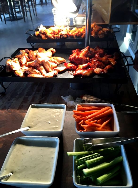 Chicken Wing Station Kam Trunk Party Pinterest Chicken Wings